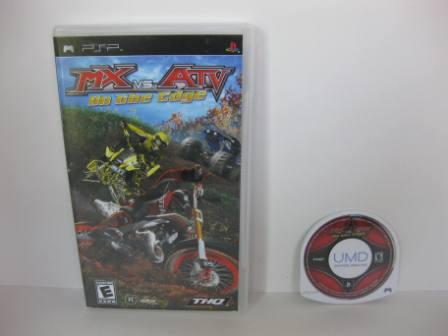 MX vs. ATV: On the Edge - PSP Game